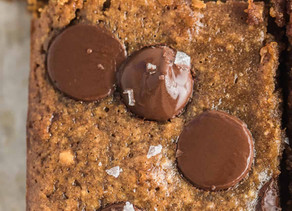 Paleo Chocolate Chips Pumpkin Bar