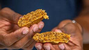 Carrot Cake Oat Walnut Vegan Cookies