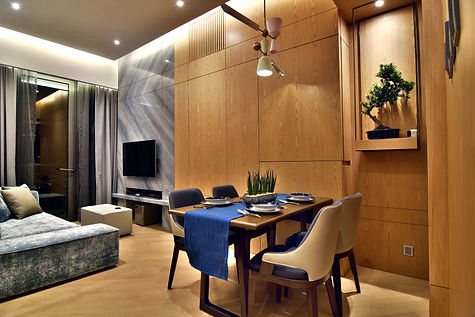 Grand Yoho Dining Room and Living Room Designed By YAY CONCEPT