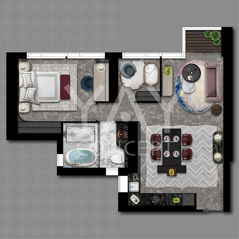 Grand Montara- 日出康城 -Layout Design Designed By YAY CONCEPT