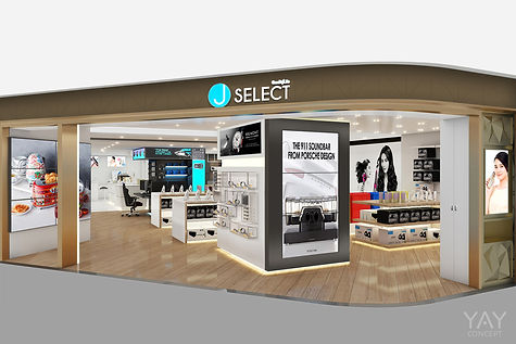 J SELECT RETAIL STORE BY YAY CONCEPT
