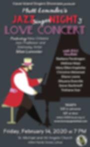 SMALL WEB Jazz Singer Night 3 flyer PINK