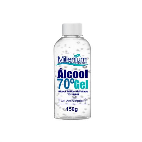Álcool em Gel Asséptico  70  -  150G