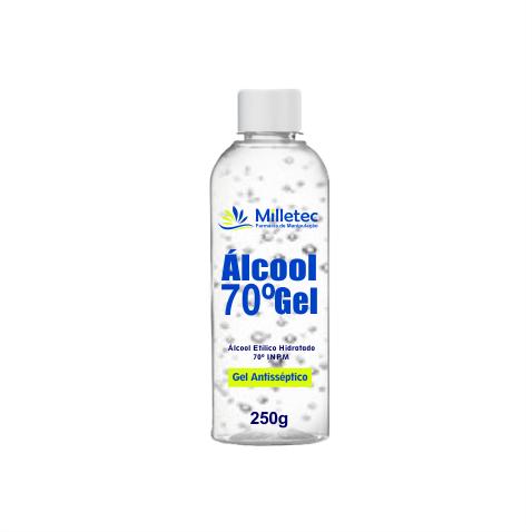 Álcool em Gel Asséptico  70  -  250G