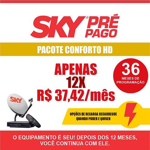 SKY PRÉ-PAGO: PACOTE CONFORTO HD