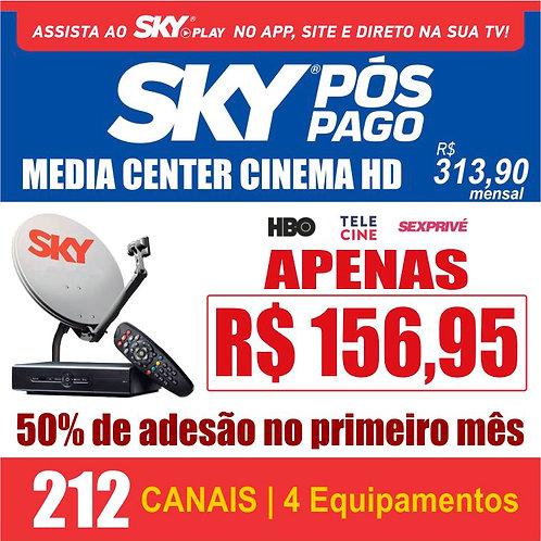 PACOTE MEDIA CENTER CINEMA HD