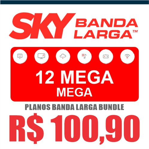 SKY BANDA LARGA - 12 MEGA MEGA - BUNDLE