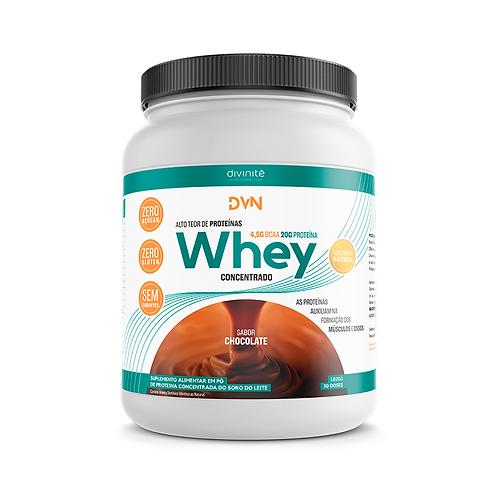 DVN Whey Concentrado - Sabor Chocolate