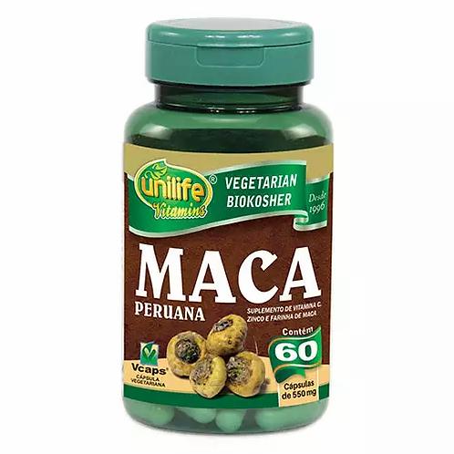 Maca Peruana com Vitaminas Unilife 550mg