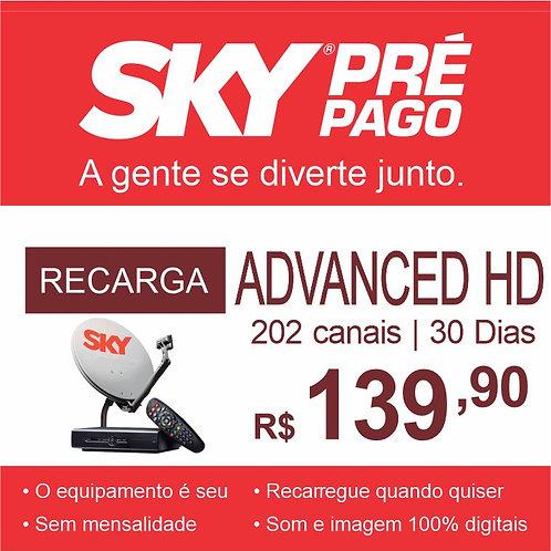 SKY PRÉ PAGO - RECARGA ADVANCED HD