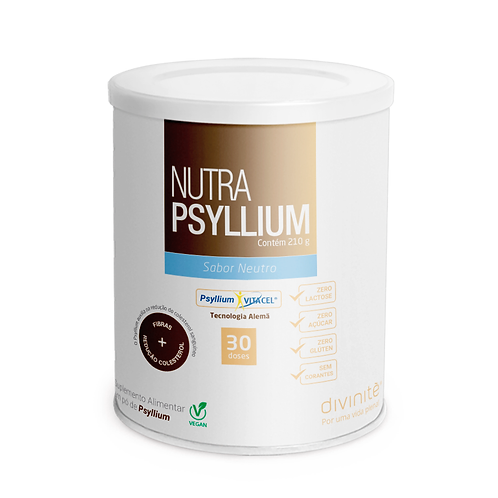 Nutra Psyllium (vegan) Sabor Neutro 210g - Divinité
