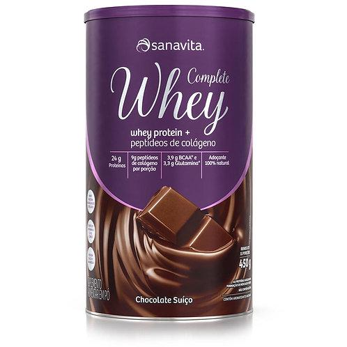 COMPLETE WHEY SABOR CHOCOLATE SUÍÇO 450g
