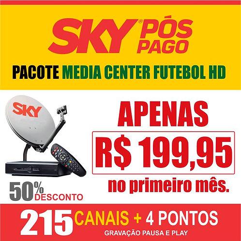 PACOTE MEDIA CENTER FUTEBOL HD - 04 PONTOS