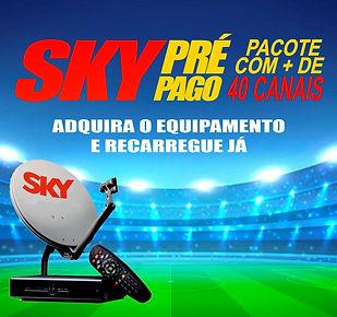 Sky Pre Pago Taboão da Serra