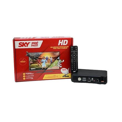 Receptor  - SKY Pré Pago Flex HD Preto