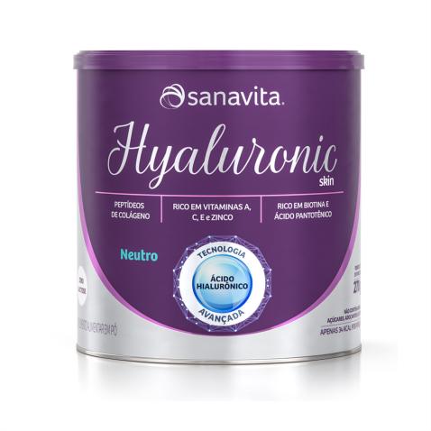 HYALURONIC SKIN NEUTRO 270g | 30 porções 13,5g