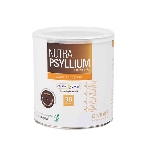 Nutra Psyllium (vegan) Sabor Tangerina  240g - Divinité