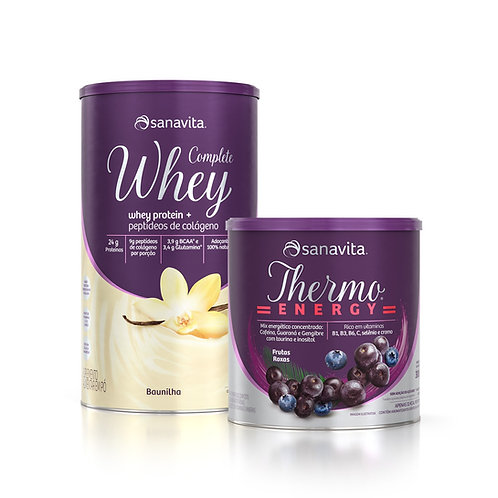 KIT COMPLETE WHEY + THERMO