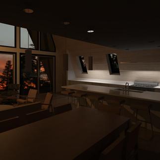 Truckee A-Frame Concept Design