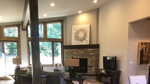 Grays Crossing Fireplace and Entertainment Center