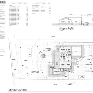Architects + Engineers + Planners: Defensible Space and BMP Plans