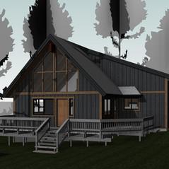 Streetview 3D Model - Tahoe City, California As-Built