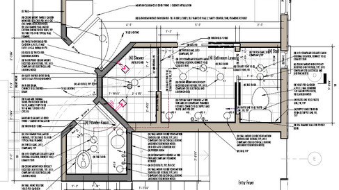 Bathroom + Kitchen Remodel Plans