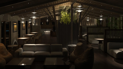 South Lake Tahoe Treehouse Lounge Commercial Design Project