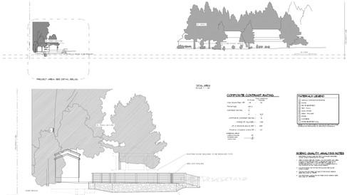 TRPA Exhibits - Scenic Quality Analysis - Pier Permits - Upland Improvements Permits