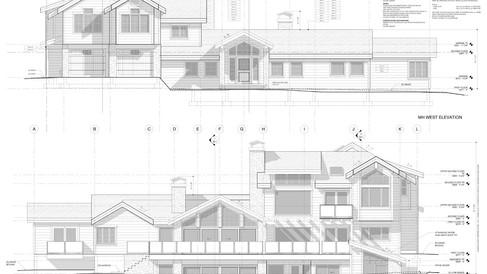 COMPLETE building plan sets