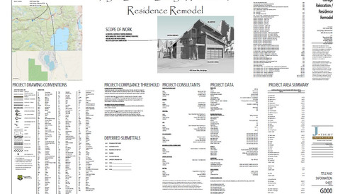 Architectural / Residential Design Full Plan Sets