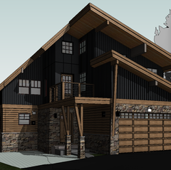 Streetview 3D Model Proposed - Soda Springs, California Addition / Alteration