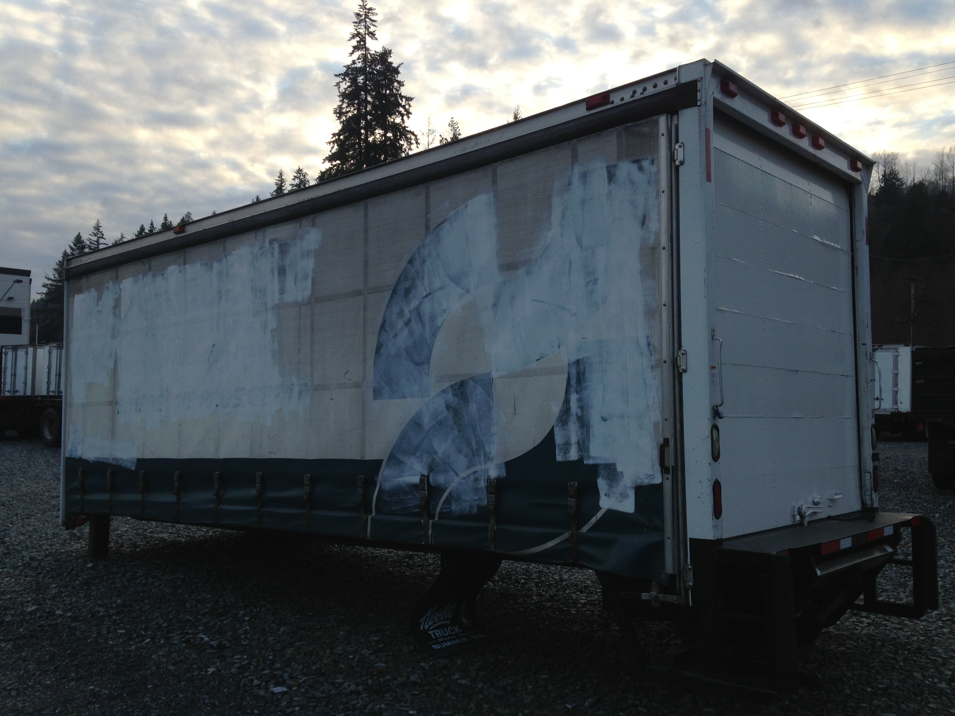 "Morgan 24'x 96"" Curtainside"