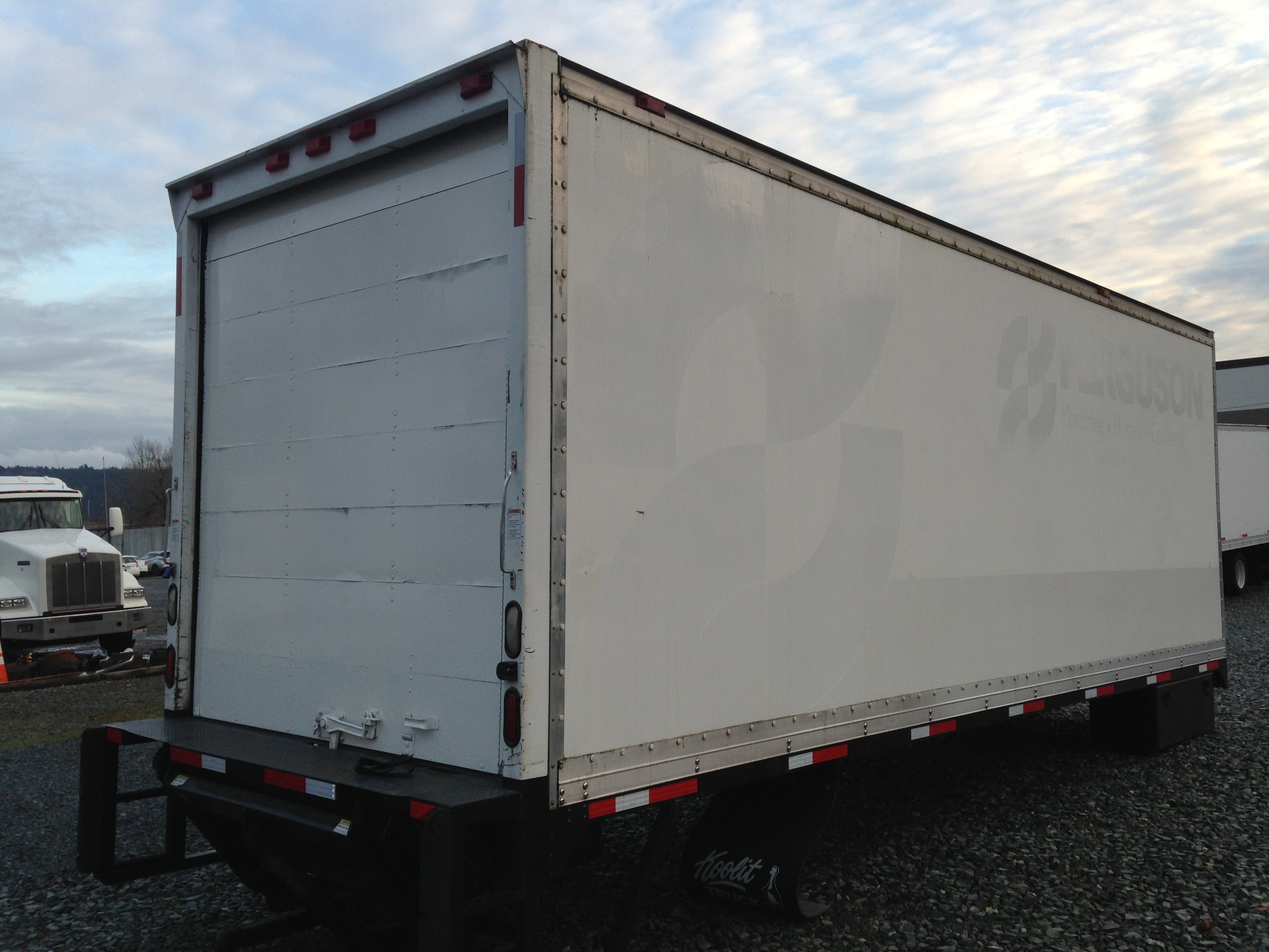"Morgan 24'x 96"" Curtainside Curtainside Body"