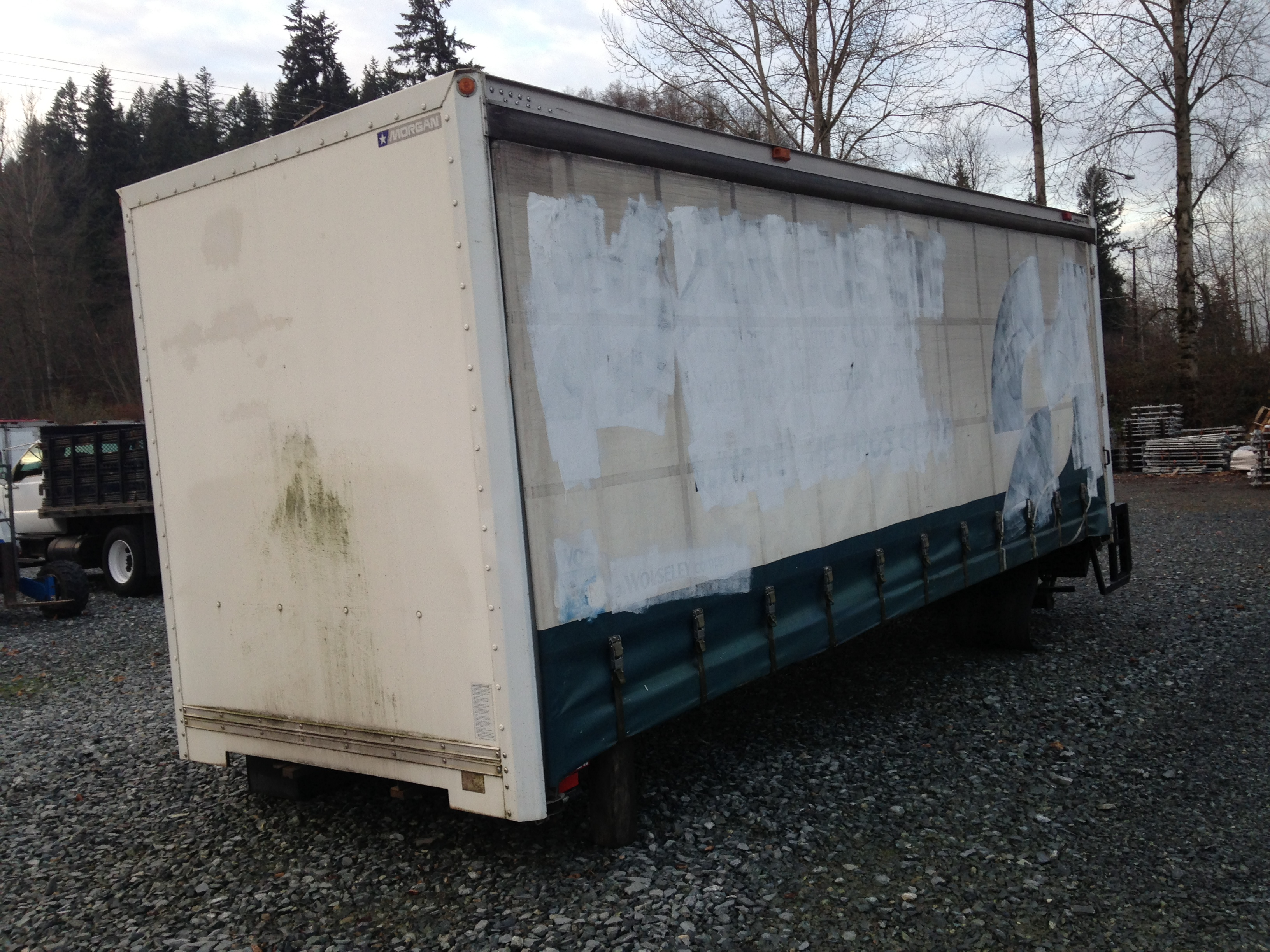 "Morgan 24'x 96"" Curtainside Body"