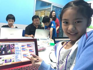 คอร์สเรียนเขียนโปรแกรมสำหรับเด็ก (Level 2-3 วันอาทิตย์)