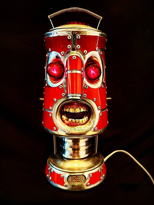 Robot in Red
