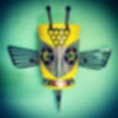 #tinangrymen #robot #reclaimed #robotart