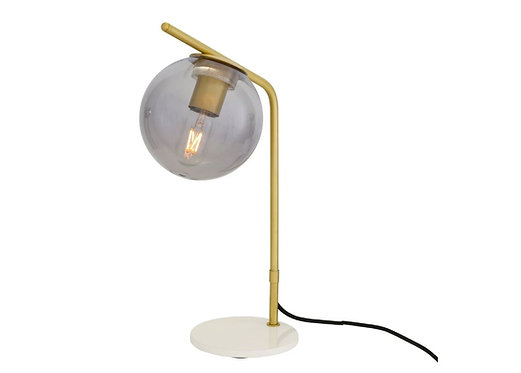 ALBANY GLASS GLOBE TABLE LAMP