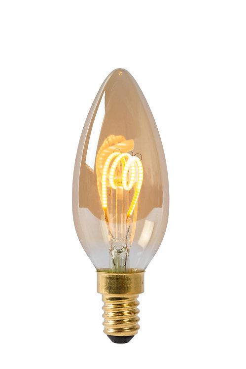 LED KERTAPERA - E14 - AMBER