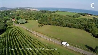 Les Vignes sur la corniche près de St Jean de Luz
