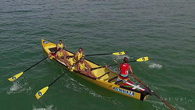Surfboat à Hendaye