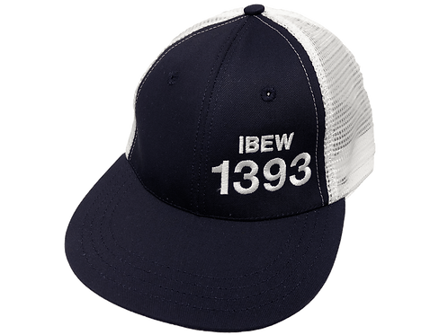 Navy/White 1393 on front - 1267
