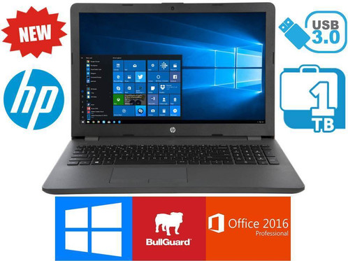 Hp 255 G6 120gb Ssd 4gb Ram Windows 10 Laptop With Full Microsoft Office