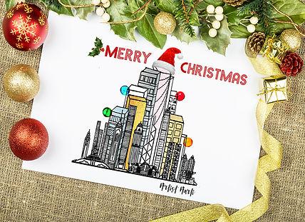 Okay.com Christmas Card
