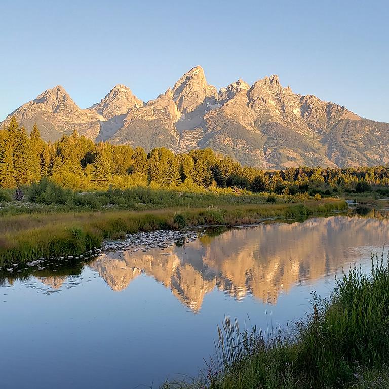 Camping Trip, Jackson, Wyoming Adventure Trip