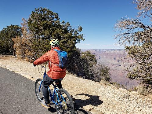 DIY Adventure Trip: Bike Ride at the Grand Canyon, South Rim