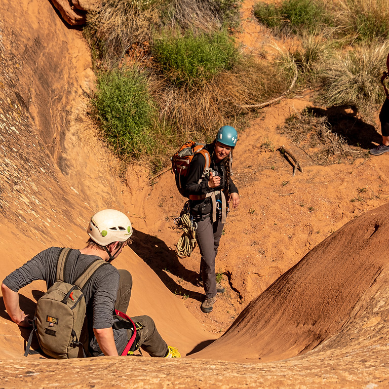 Canyoneering Trip, Central Utah