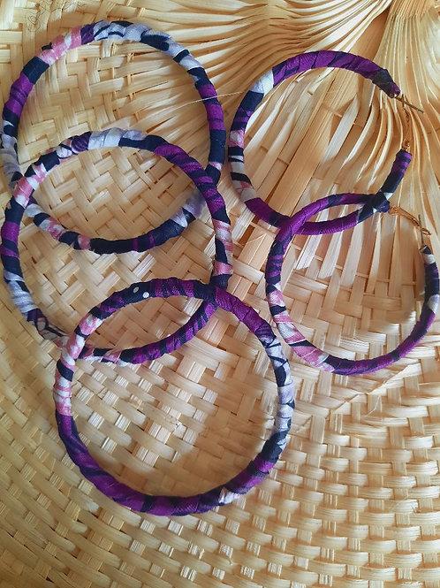 Parure Bracelet et Boucle d'Oreille Wax