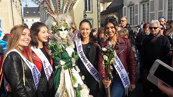 Miss Elegance Vosge 2019 au Carnaval Véniten de Remiremont